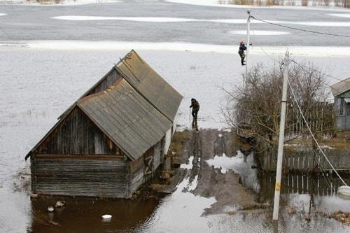 ледоход, паводок