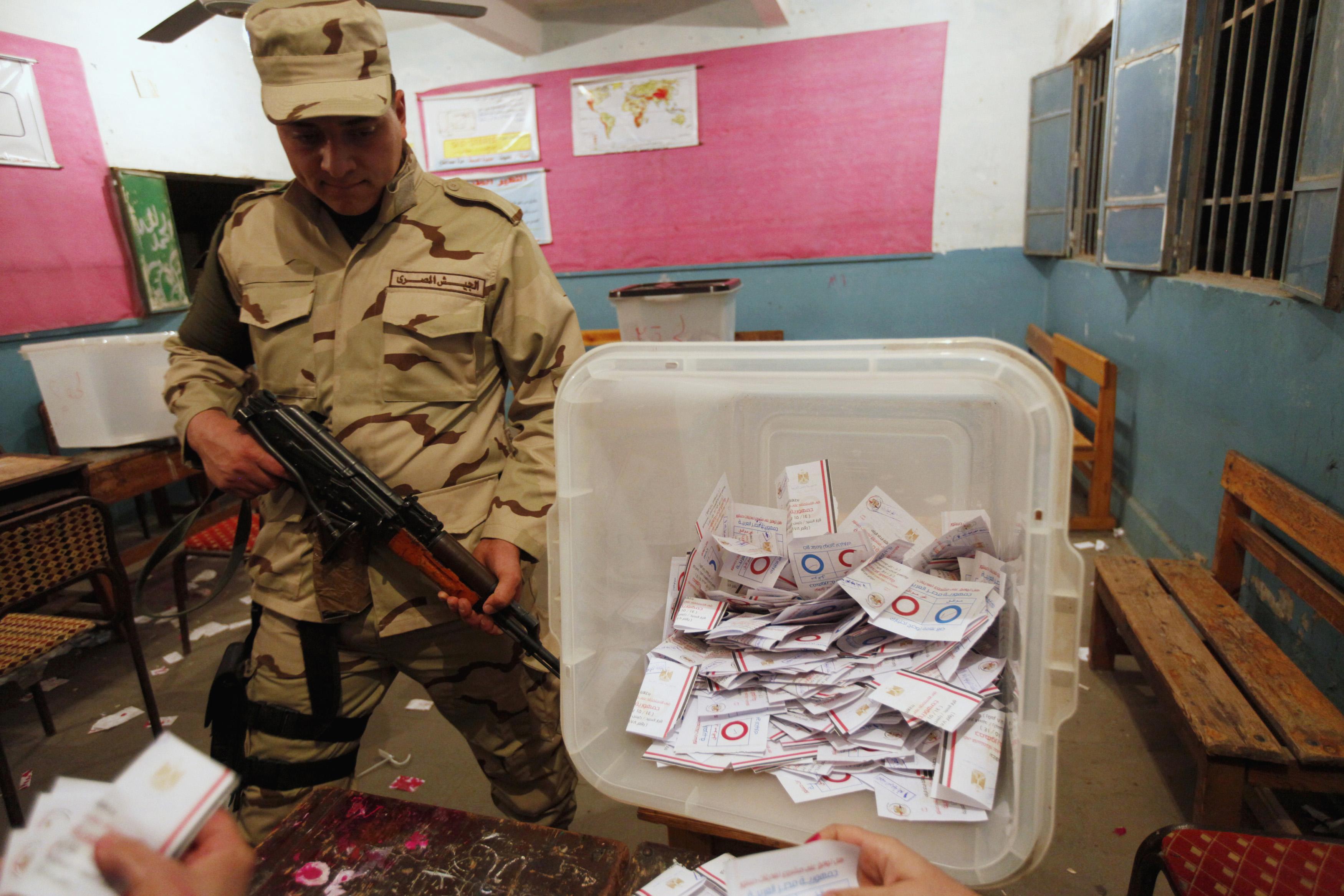 Не менее 95% египтян высказались за принятие новой конституции