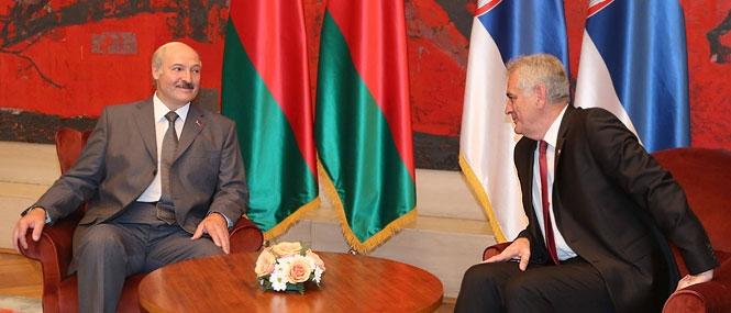 Встреча Президента Республики Беларусь Александра Лукашенко и Президента Республики Сербия Томислава Николича, 12 июня 2014 года