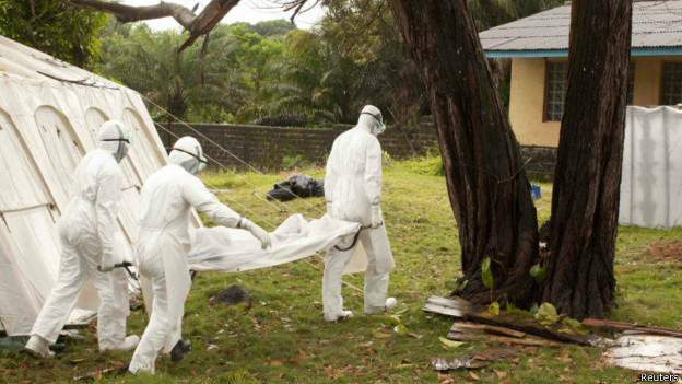Страны Западной Африки борются с лихорадкой Эбола