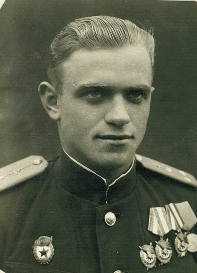 Гвардии старший лейтенант Тихон Жучков