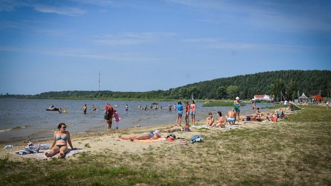 пляж озеро