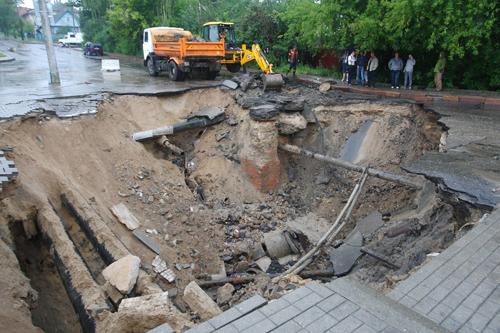 От субботней непогоды пострадали Гомель, Гродно и Минск