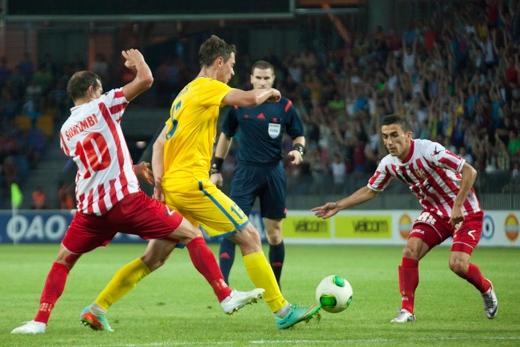 БАТЭ сыграл вничью со Скендербеу в квалификации Лиги Чемпионов