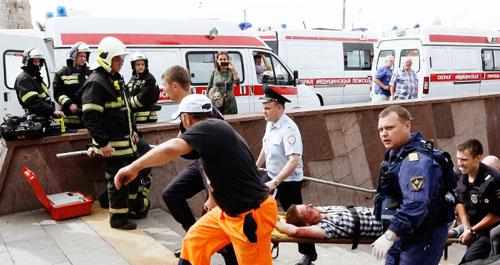 Поезд московском метро мог потерпеть крушение из-за неизвестного предмета