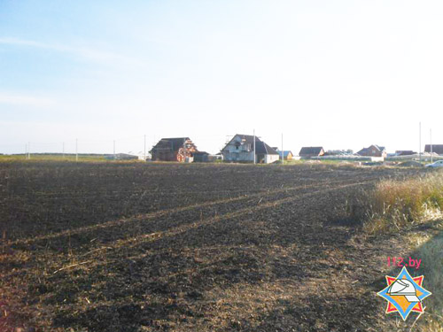 В Столинском районе от огня спасено 30 гектаров озимой пшеницы
