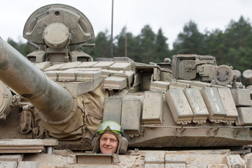 Белорусские танкисты станут участниками чемпионата мира «Танковый биатлон-2014» в России