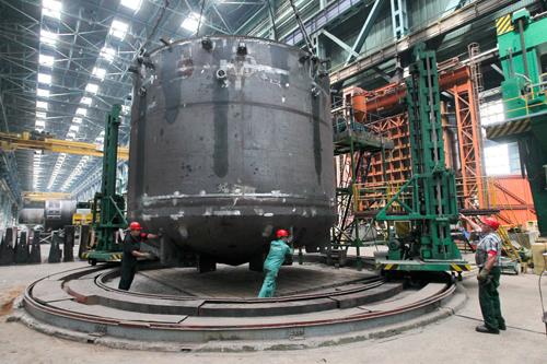 Заготовки для реактора Белорусской АЭC обладают высоким качеством