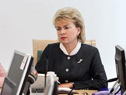 Министр труда и соцзащиты Беларуси Марианна Щеткина