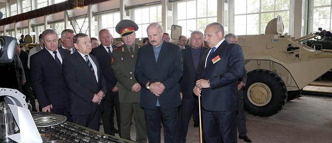 президент в Борисове