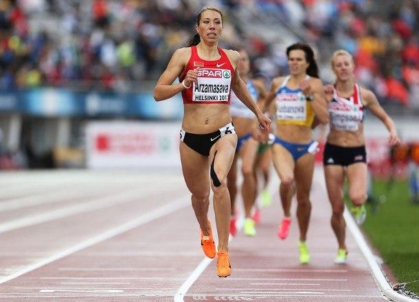 Белорусская бегунья победила на этапе Мирового вызова