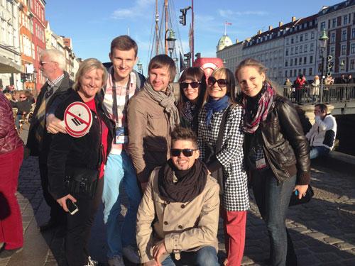 ТЕО спел про чизкейк на набережной Копенгагена