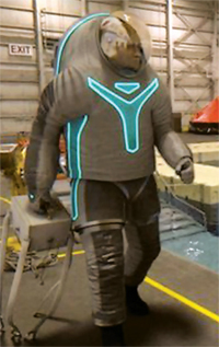 Prototype spacesuit