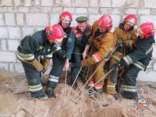 В Витебске мужчина пострадал из-за обрушившейся кирпичной стены