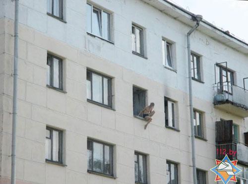 В Могилеве спасатели предотвратили попытку суицида