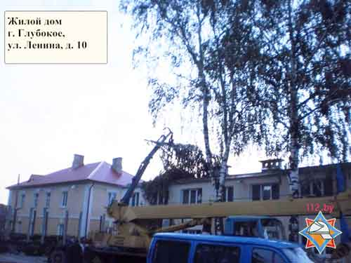Грозовой фронт с порывистым ветром «наследили» в 42 населенных пунктах Беларуси
