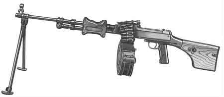 В Гродно молодой человек добровольно сдал в милицию пулемет Дегтярева
