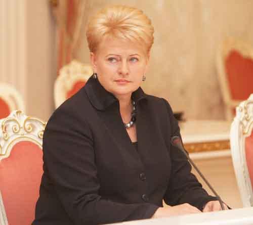 Даля Грибаускайте переизбрана президентом Литвы на второй срок