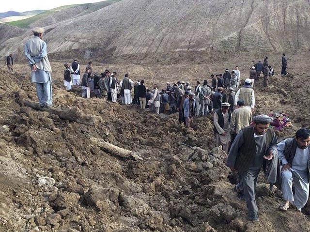 В Афганистане оползень унес жизни 2,1 тысяч человек