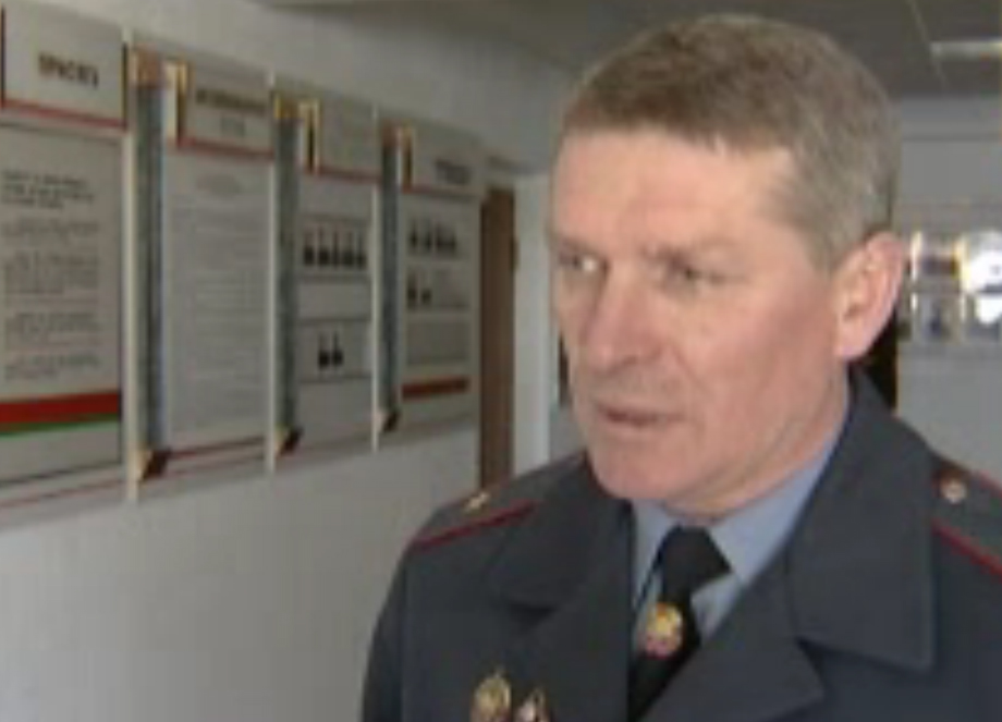 Николай Мельниченко замминистра внутренних дел Беларуси