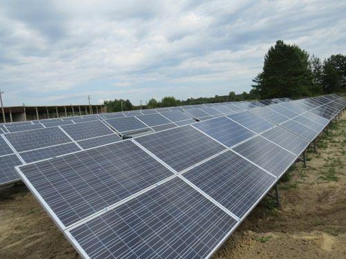 В заказнике в Березовском районе заработали солнечные батареи