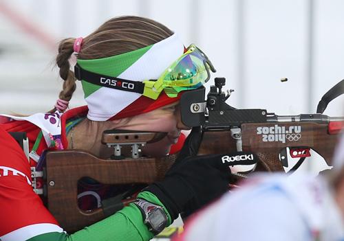 Домрачева выиграла масс-старт этапа Кубка мира в Словении