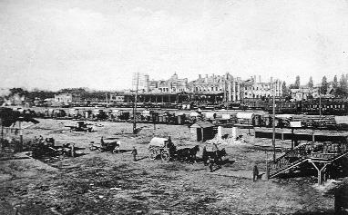 В поисках утраченного - Брестский железнодорожный вокзал