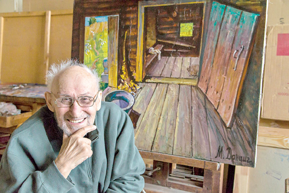 Скончался народный художник Беларуссии Май Данциг
