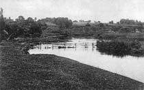 Мстиславль. Река Вихра. Начало ХХ века.