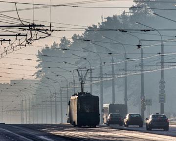трамвай, дорога, транспорт