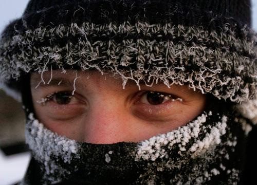 мороз холод зима