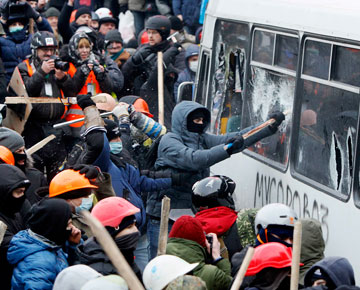 беспорядки киев украина