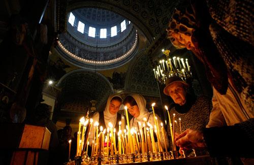 В Минске пройдет молебен о мире в Украине