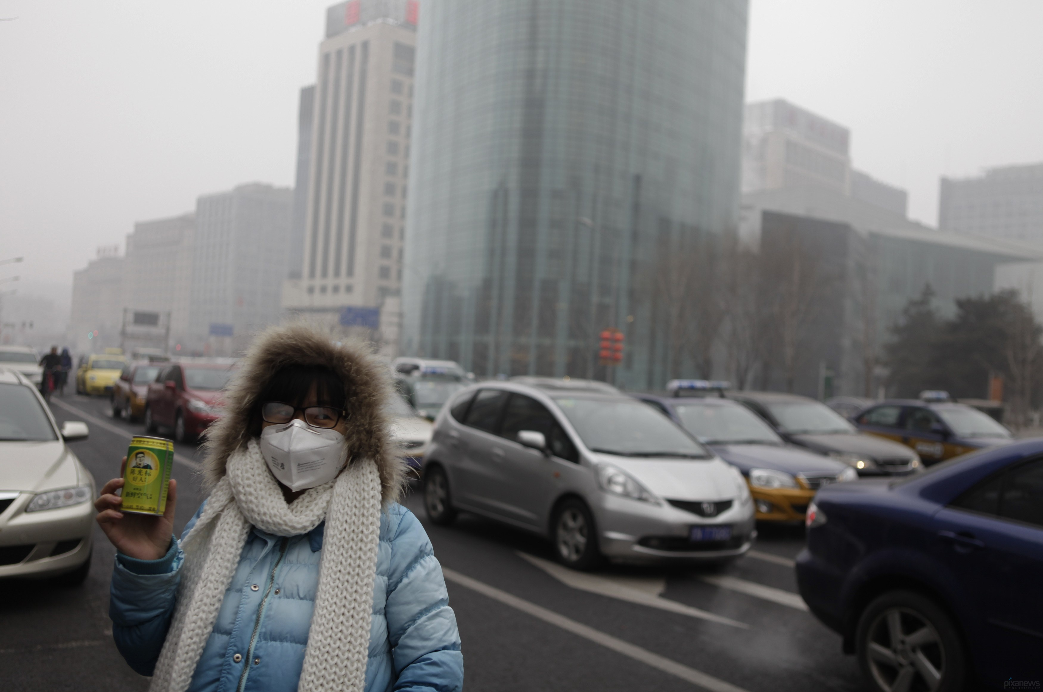 В Китае начали продавать бутылки со свежим воздухом