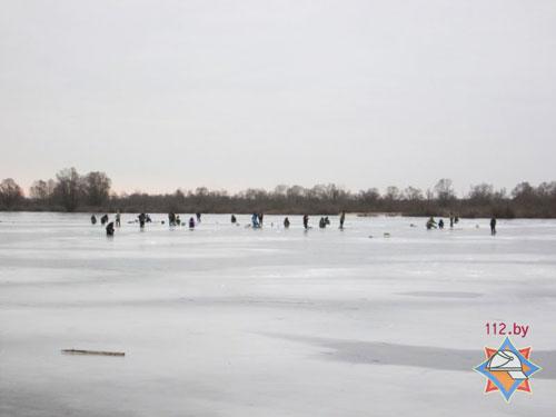 В Брестской области спасен провалившийся под лед рыбак