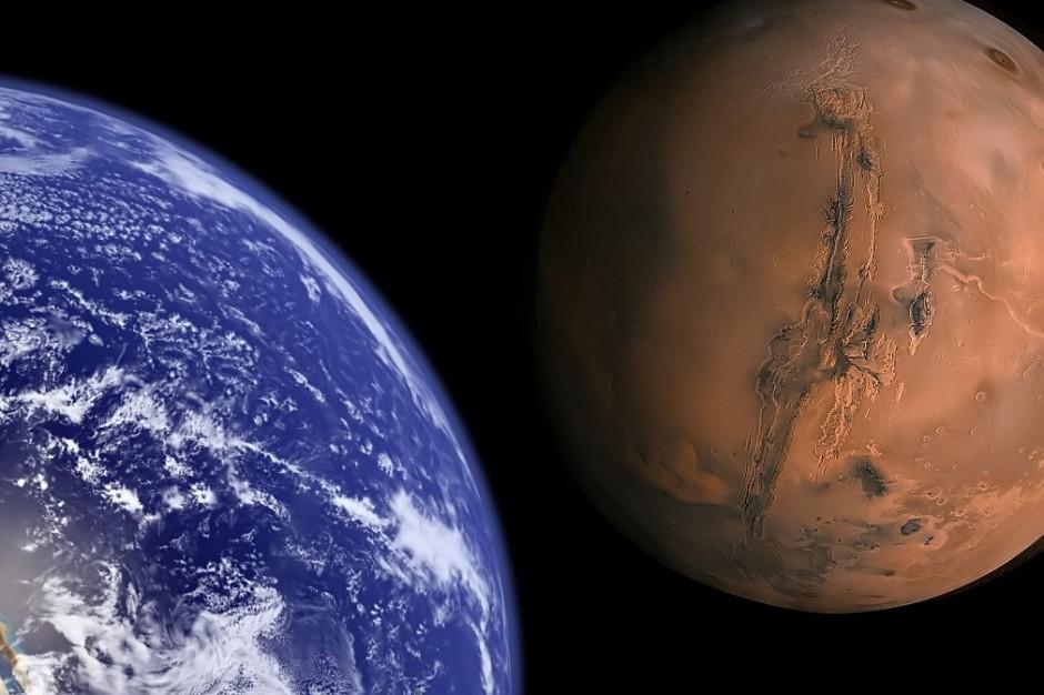 земля и марс сближаются