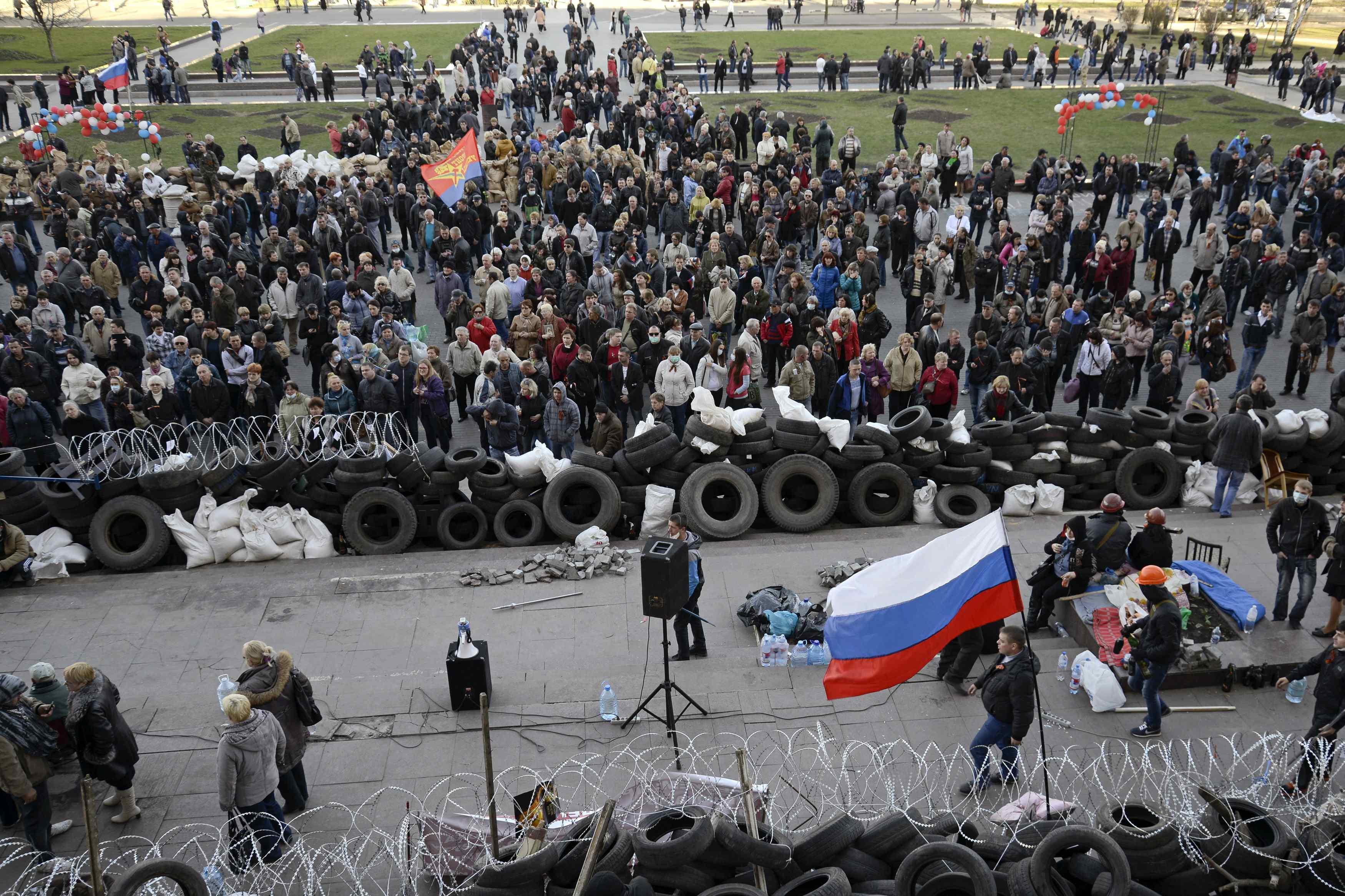 МВД Украины: конфликт на востоке будет разрешен за 48 часов