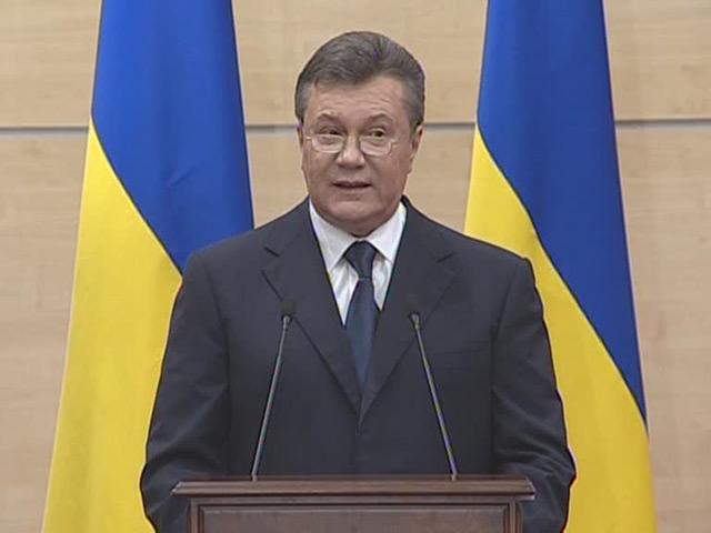 Янукович: Я никуда не сбегал и скоро вернусь в Киев