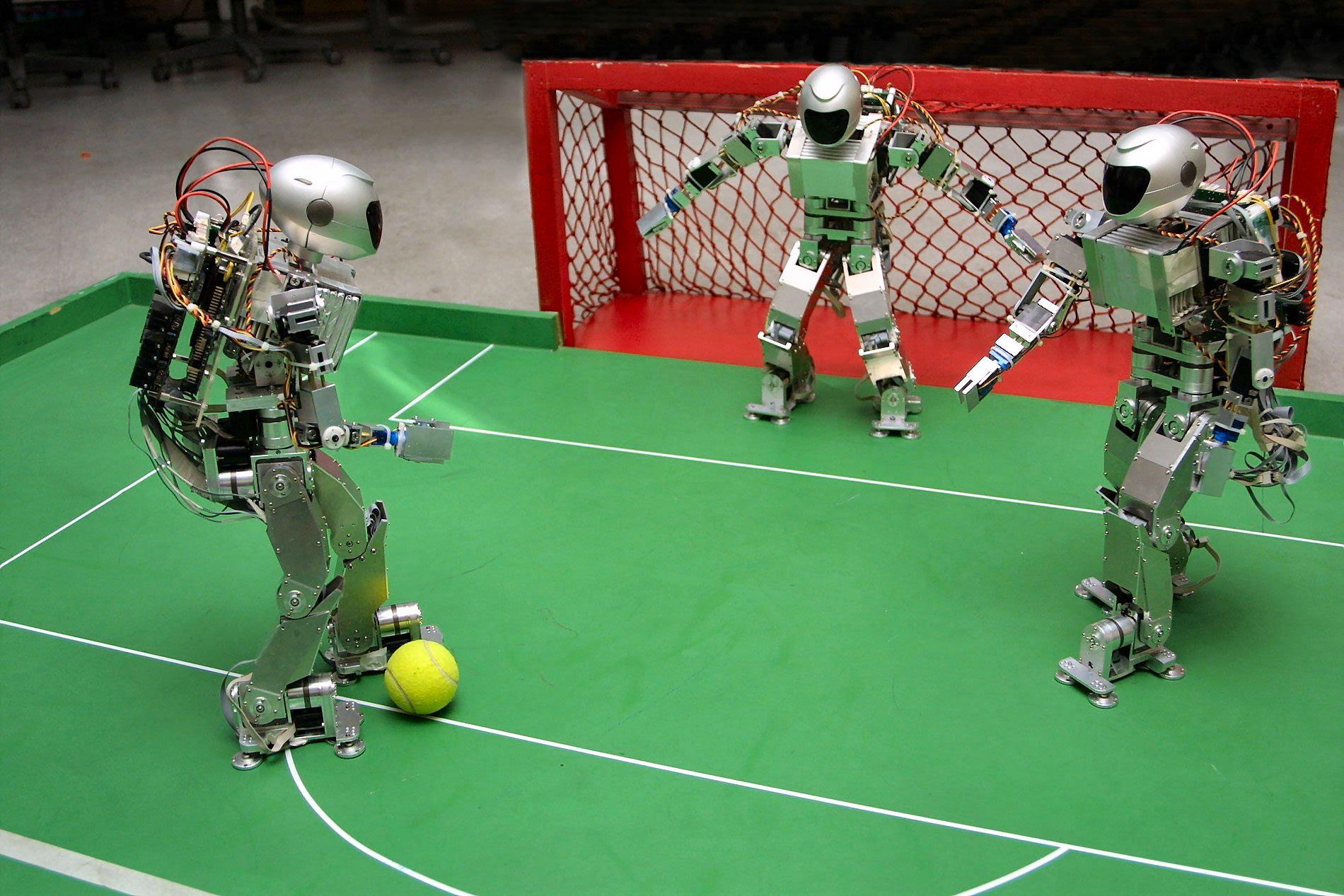 Всемирная олимпиада роботов футбол