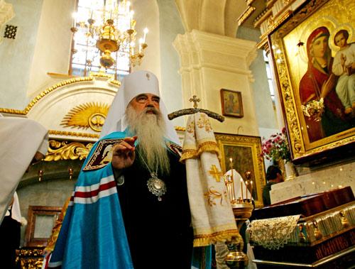 Сегодня у Митрополита Филарета, почетного Патриаршего Экзарха всея Беларуси, день рождения