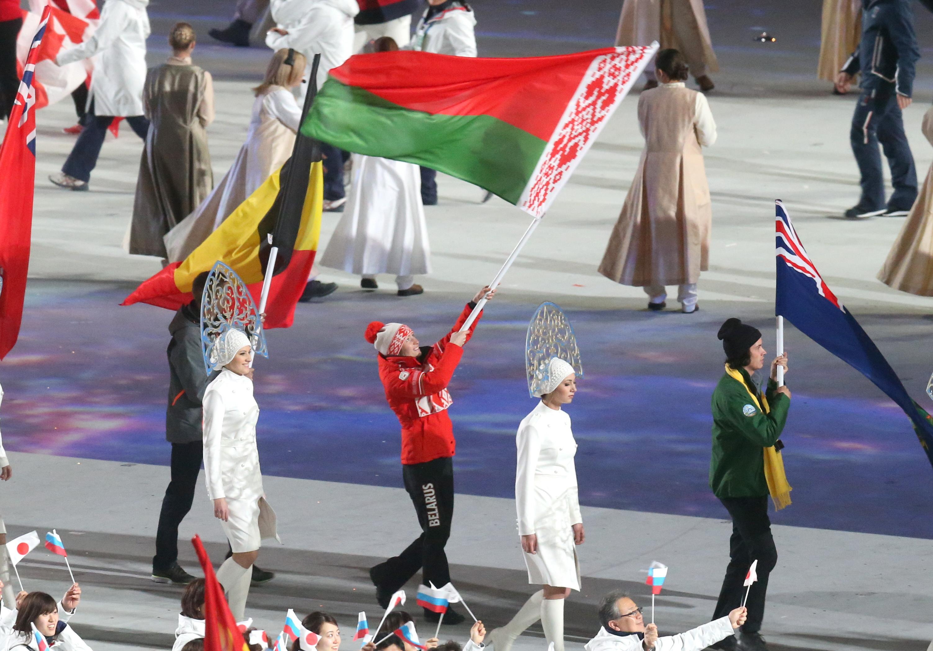 Белорусских олимпийцев встретят военным оркестром и красной дорожкой