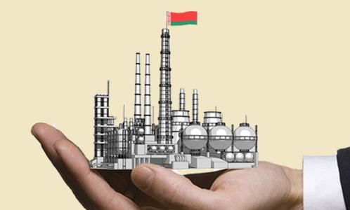 белорусское предприятие на руке