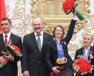 президент, награды, олимпийцы