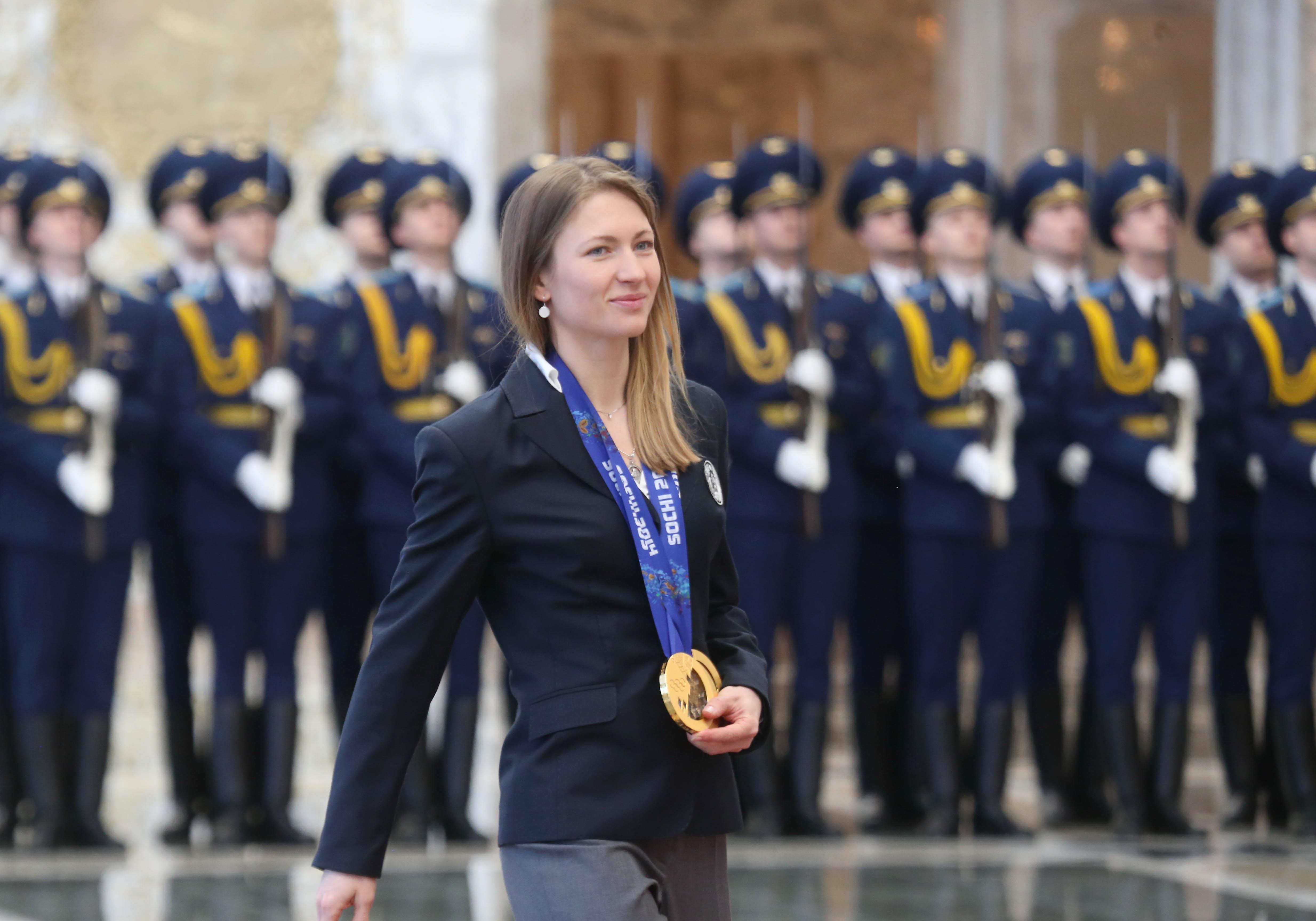 Золотая биатлонистка Дарья Домрачева станет послом доброй воли ООН