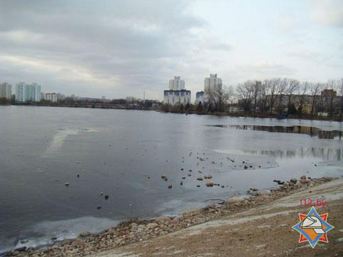 На Чижовском водохранилище спасен провалившийся под лед мальчик
