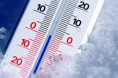 градусник холод