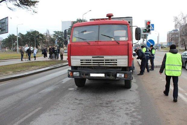 Водитель КАМАЗа признан полностью виновным  в гибели девочки на пешеходном переходе в Гродно