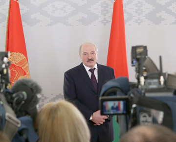 Ответы Александра Лукашенко на вопросы СМИ