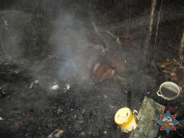 В Могилевском районе найдено обгоревшее тело неизвестного