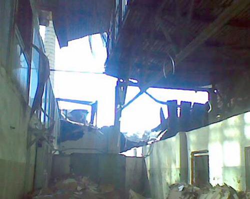 Под Минском обрушилось перекрытие строящейся гостиницы